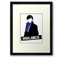Sherlock Benedict Cumberbatch Holmes  Framed Print