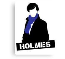 Sherlock Benedict Cumberbatch Holmes  Canvas Print