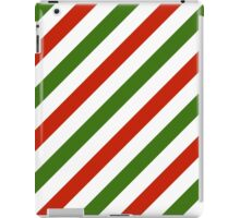 Christmas stripes pattern iPad Case/Skin