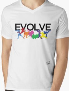 Evolve (MMA) 2 Mens V-Neck T-Shirt