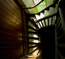 Old church stairs in Adelaide by churchmouse
