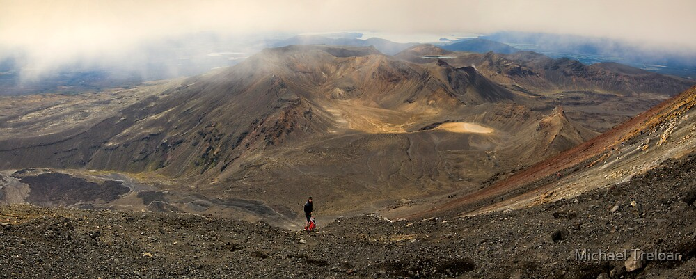 Mt Tongariro Pano by Michael Treloar
