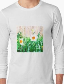 Painted Daffodils Long Sleeve T-Shirt