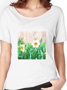 Painted Daffodils Women's Relaxed Fit T-Shirt
