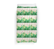Painted Daffodils Duvet Cover
