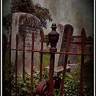 Iron and Headstone  by Brandonleo