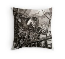 LeChuck's Revenge Engraving Throw Pillow