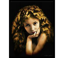 Bessie Love in Oil Photographic Print