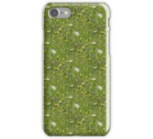 Patchwork of wild flowers iPhone Case/Skin