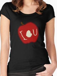 iou. Women's Fitted Scoop T-Shirt