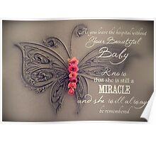 Memory Box Card - Baby Girl Poster