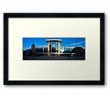 UT Arlington Maverick Center Framed Print