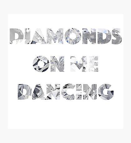 Diamond Dancing   Photographic Print