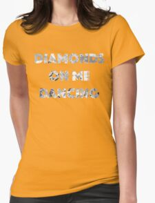 Diamond Dancing   Womens Fitted T-Shirt