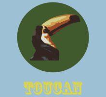 Toucan  One Piece - Short Sleeve