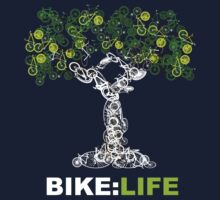 BIKE:LIFE in white Kids Clothes