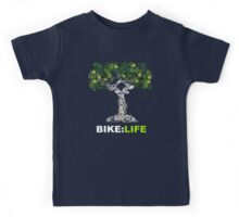 BIKE:LIFE in white Kids Tee