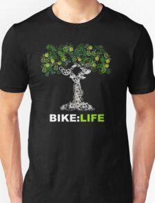 BIKE:LIFE in white Unisex T-Shirt