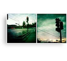 Stops Along the Way Canvas Print