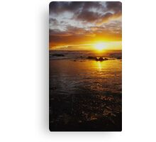 At Dusk We Meet Canvas Print