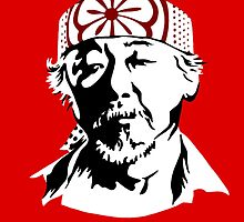 Mr. Miyagi - The Karate Kid by iankingart