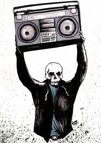 Boombox by Zombie Rust