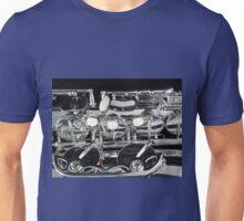 Tenor Sax Keys - Detail Unisex T-Shirt
