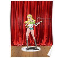 Banjo Girl Poster