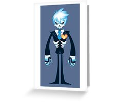 Ghost!Jack Frost in Tux Greeting Card