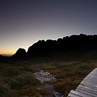 Sunrise cradle mountain by Kenji Ashman