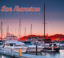 San Francisco: Yacht Morning Take 2 : Art by Evan Weiss