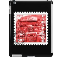 Jeepney Postage Stamp iPad Case/Skin