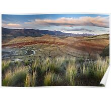 Painted Hills Overlook Poster
