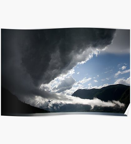 There's a storm brewing! Poster