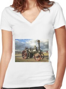 "Ruston & Hornsby 6nhp General Purpose Engine No.113043 ""Oliver"" Women's Fitted V-Neck T-Shirt"