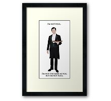 Thomas Barrow - Downton Abbey Framed Print