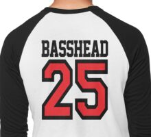 Basshead 45 (black) Men's Baseball ¾ T-Shirt