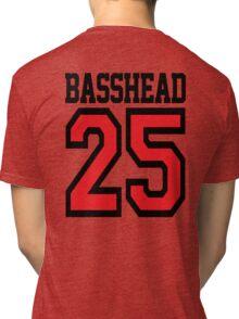 Basshead 45 (black) Tri-blend T-Shirt