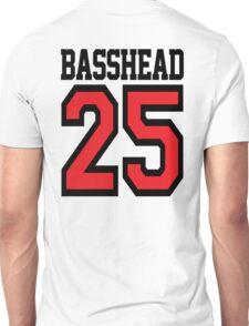 Basshead 45 (black) Unisex T-Shirt