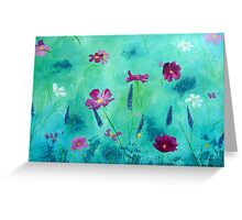 Meadow Moment in Acrylics Greeting Card