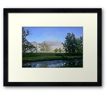 Gloucester River, NSW Framed Print
