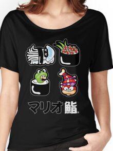 Mario Sushi Women's Relaxed Fit T-Shirt