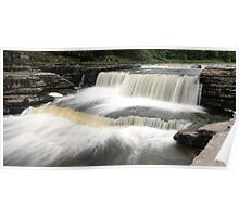 Aysgarth - Stepped Falls 1 of 3 Poster