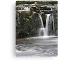 Aysgarth - V Falls 2 of 3 Canvas Print