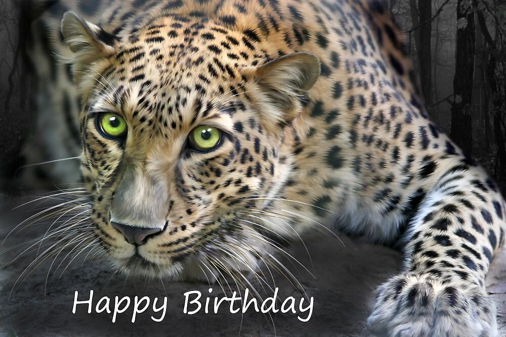 Sundari - Birthday Card by Big Cat Rescue