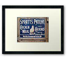 Spratts Framed Print
