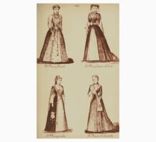 Fancy dresses described or What to wear at fancy balls by Ardern Holt 192 Mary Stuart Queen of Scots Marguerite Antoinette One Piece - Long Sleeve