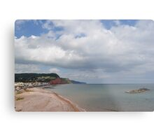 Costal View Metal Print