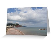 Costal View Greeting Card