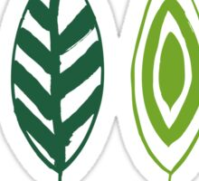 Grunge green Sticker